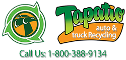 Tapatio Auto and Truck Recycling Mobile Retina Logo