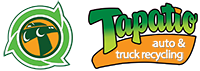 Tapatio Auto and Truck Recycling Retina Logo